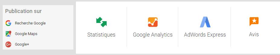liste des outils google my business