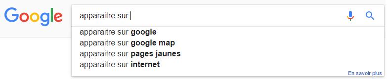 utiliser autocompletion google pour choix des mots-clés
